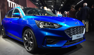 Ford Focus launch - front
