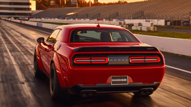 Dodge Demon rear
