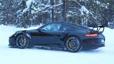 2018 Porsche 911 GT3 RS prototype - Rear