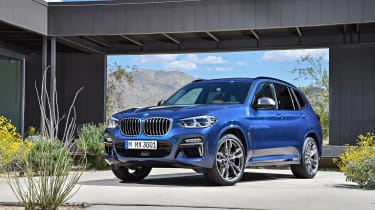 BMW X3 M40i - front static