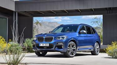 BMW X3 M40i - front static
