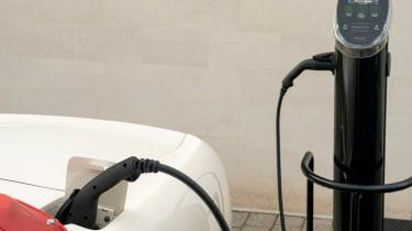 Aston Martin DB6 EV charging