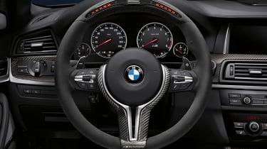 BMW M5 steering wheel upgrade