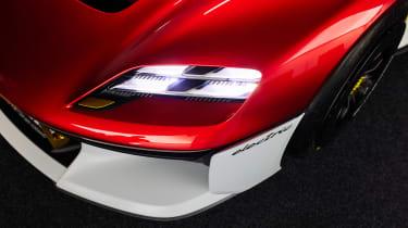 Porsche Mission R – headlight