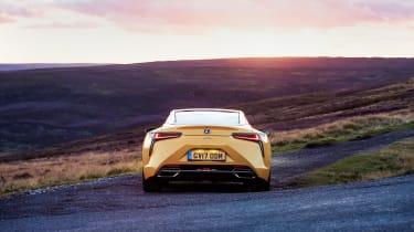 Lexus LC500 – rear