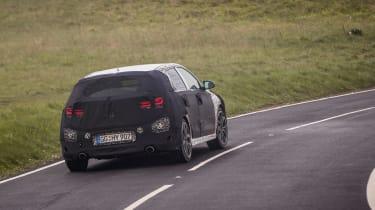 Hyundai i30 N prototype - rear cornering