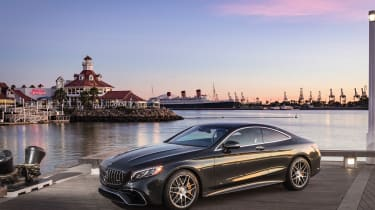 Mercedes-AMG S36 Coupe - quarter static