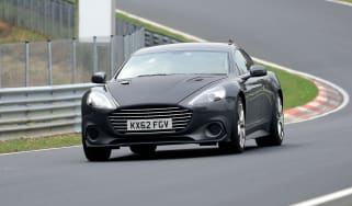 Aston Martin Rapide AMR spy - front