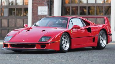 Ferrari F40 – front quarter