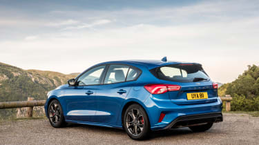 Ford Focus ST-Line review - rear quarter