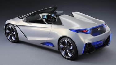 Honda EV-STER sports car