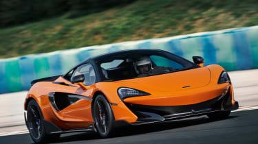 McLaren 600LT first drive - front