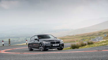 BMW 6-series GT 630d - front cornering