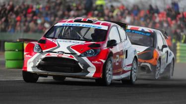RallyCross Fiesta and DS3