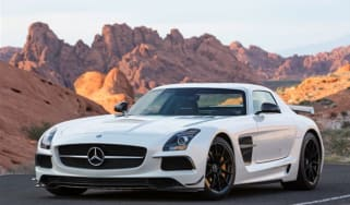 Mercedes SLS AMG Black video