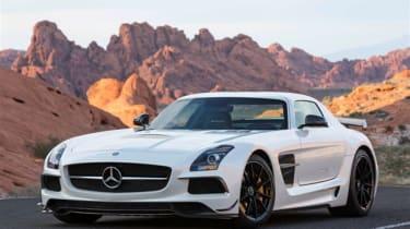Mercedes SLS AMG Black video
