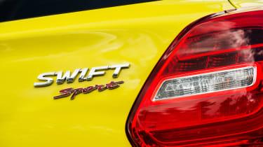 Suzuki Swift Sport - badge