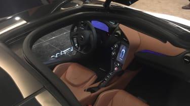 McLaren 720S Geneva interior