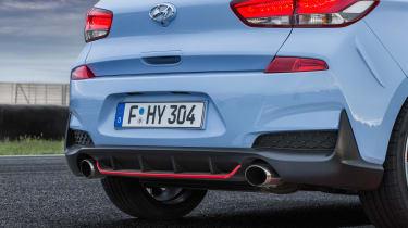 Hyundai i30 N  - pipes