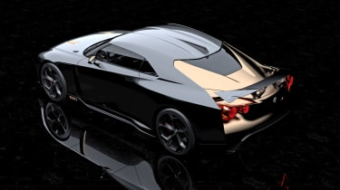 New Nissan GT-R50 by Italdesign prototype rear