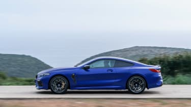 BMW M8 Competition - profile