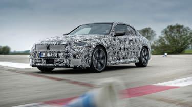 BMW M240i prototype – right cornering