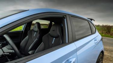 Hyundai i20 N - seats