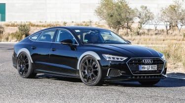 Audi RS7 spy - front quarter