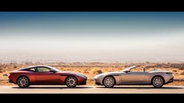 Aston Martin DB11 Volante - profiles