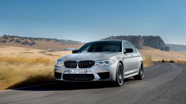 BMW M5 Competition review - front