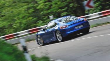 Porsche Cayman GTS rear corner