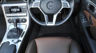 Mercedes-Benz SLK 250 CDI AMG Sport interior dashboard