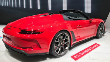 Porsche 911 Speedster - rear quarter