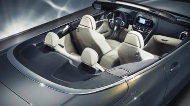 BMW 8-series Convertible - dash