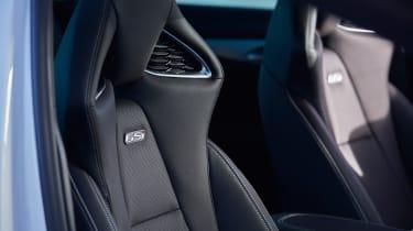 Vauxhall Insignia GSi – seats