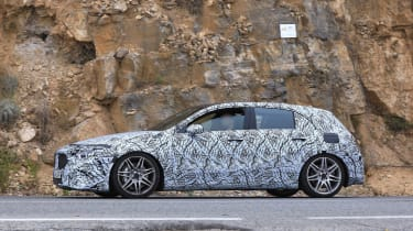 Mercedes-AMG A45 Spies - profile
