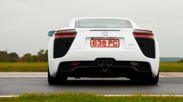Lexus LFA rear white