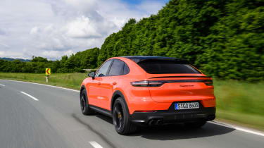 Porsche Cayenne Turbo Coupe - rear quarter