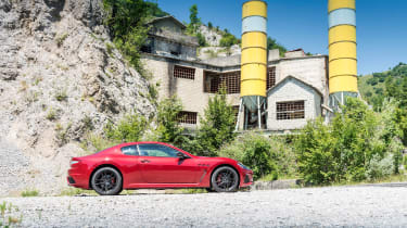 Maserati GranTurismo - side profile