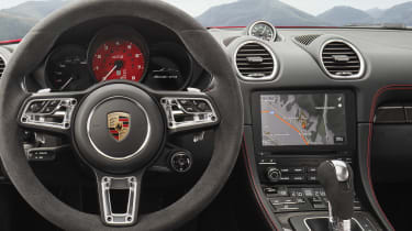 718 Boxster and Cayman GTS - dash