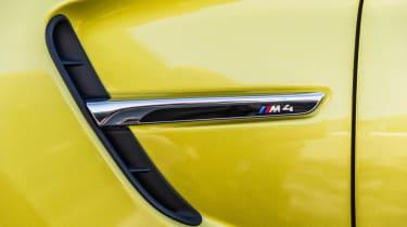 BMW M4 side vent