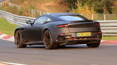 Aston Martin Vanquish Nurburgring – rear three quarter