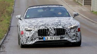 Mercedes SL spy 2021 - nose