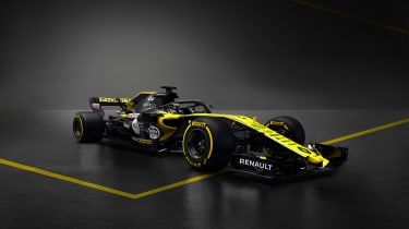 Renault 2018 car - front quarter