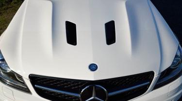 Mercedes C63 AMG Edition 507 bonnet bulge vents