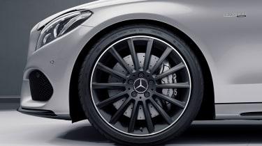 Mercedes-AMG C63 Ocean Blue Edition - front wheel
