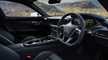 Audi e-tron GT quattro – cabin