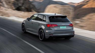 Audi RS3 Sportback Grey rear1