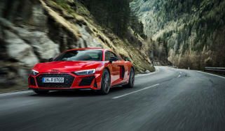 Audi R8 V10 Performance RWD – front tracking