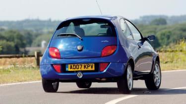 Ford SportKa – rear